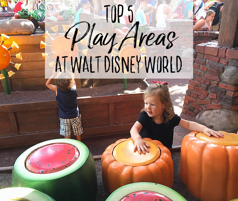 Top 5 Playgrounds at Walt Disney World