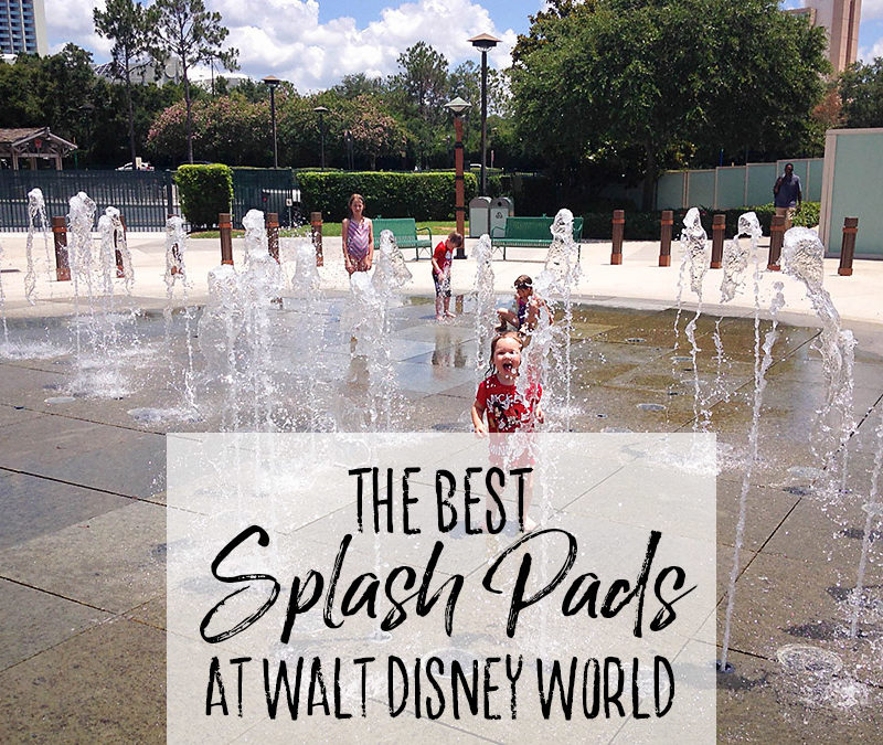 The Best Splash Pads at Walt Disney World