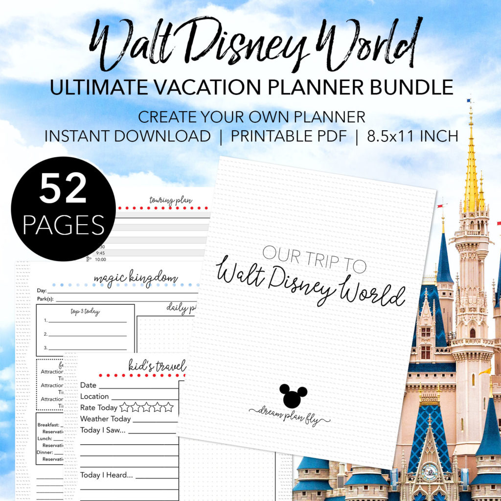 Ultimate Disney Vacation Planner Bundle