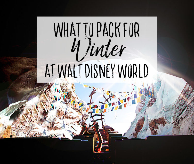 What to Pack for Winter at Walt Disney World