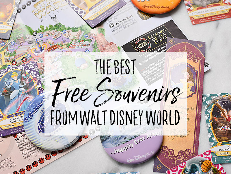 The BEST Free Souvenirs from Walt Disney World