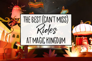 Our Favorite Rides at Magic Kingdom