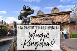 How many days should I spend at Magic Kingdom?