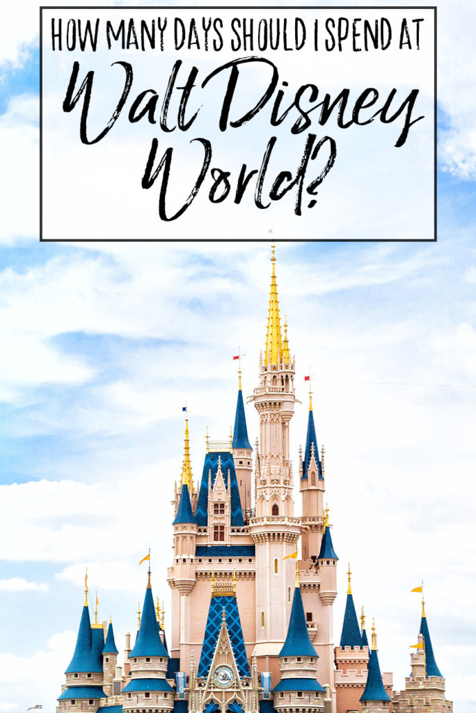 How Many Days Should You Spend at Walt Disney World - Dream Plan Fly