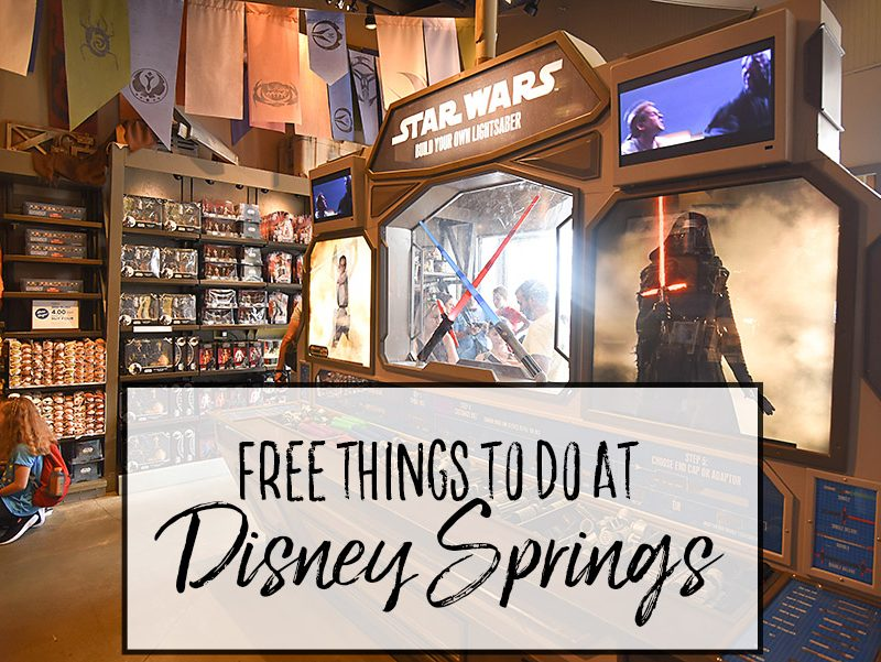 Free Things to do at Disney Springs