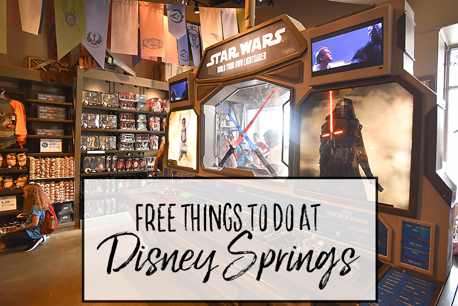 Free Things to Do at Disney Springs - Dream Plan Fly