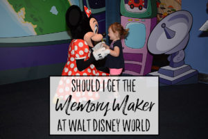Should I Get the Memory Maker at Walt Disney World?