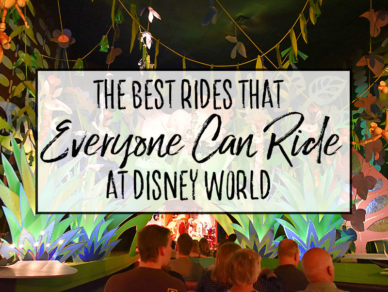 Best Rides that EVERYONE Can Ride at Disney World