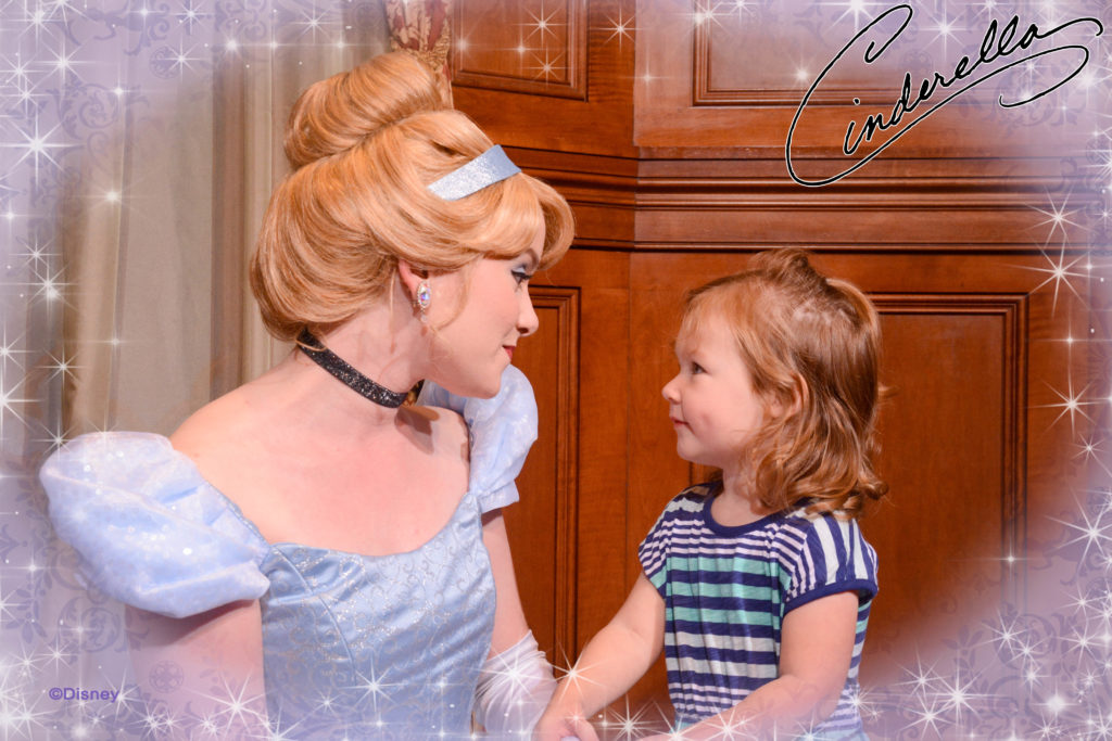 Meeting Cinderella at Magic Kingdom - Tips for Amazing Character Interactions at Walt Disney World - Dream Plan Fly