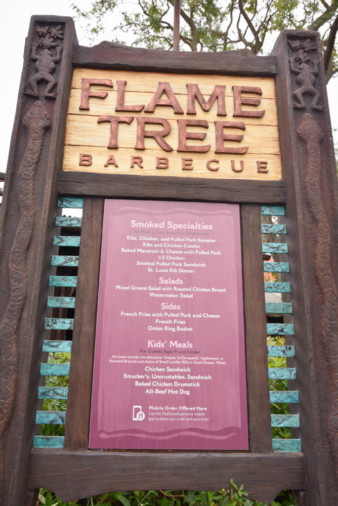 Flame Tree BBQ - My Favorite Food at Walt Disney World - Dream Plan Fly