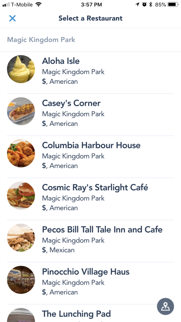 How to Use Mobile Ordering at Walt Disney World - Dream Plan Fly