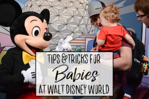 Tips for Visiting Disney World with a Baby