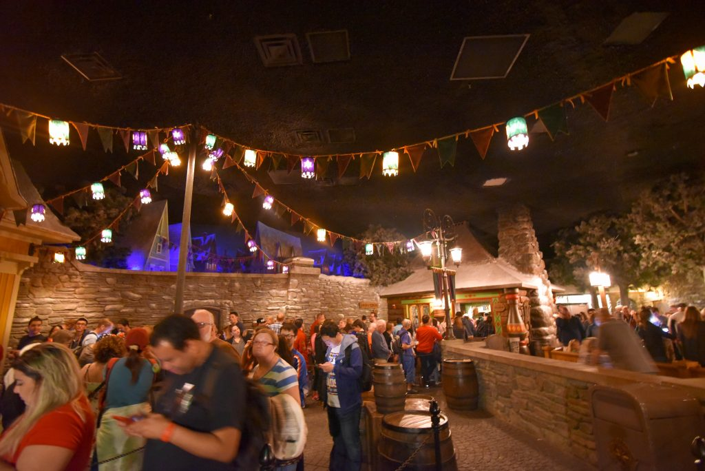 Frozen Ever After Ride Line Queue in Epcot - How to Survive a Rainy Day at Walt Disney World - Dream Plan Fly