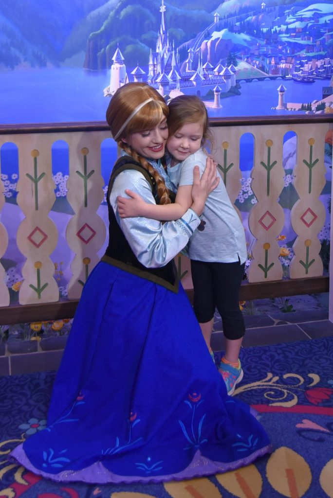 Meeting Anna from Frozen in Norway at Epcot - Tips for Amazing Character Interactions at Walt Disney World - Dream Plan Fly