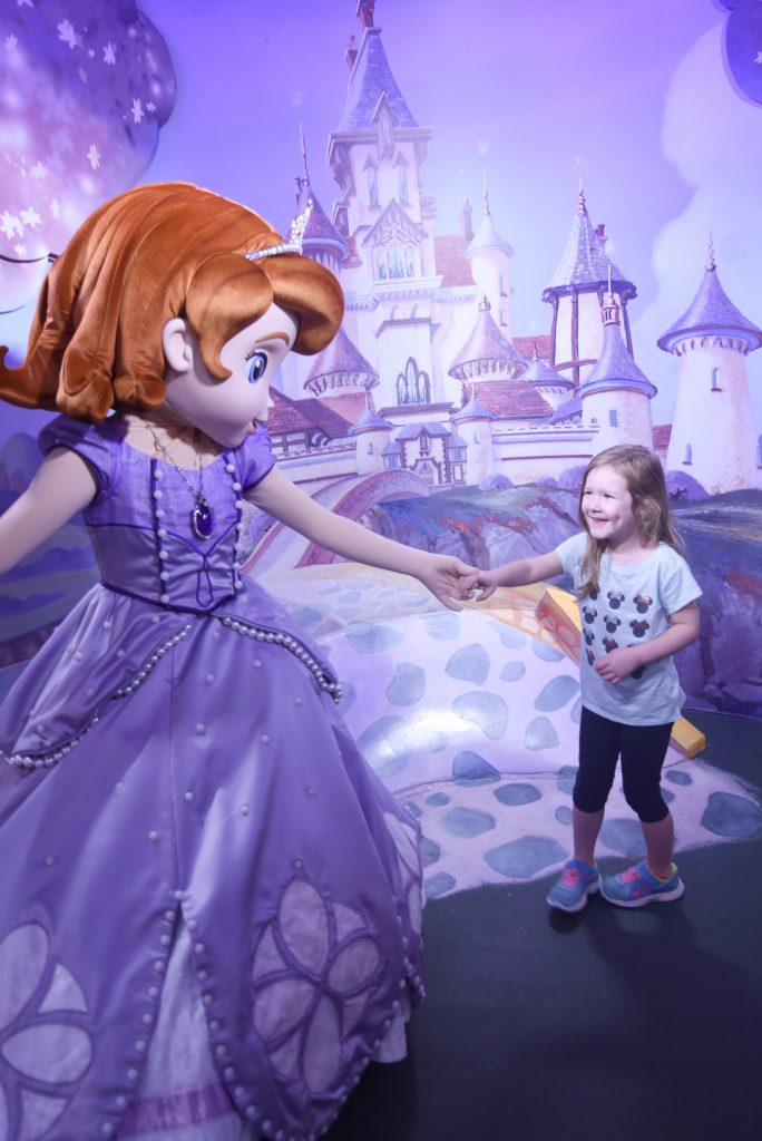 Meeting Sofia the First at Disney's Hollywood Studios - The Best Shows at Walt Disney World - Dream Plan Fly