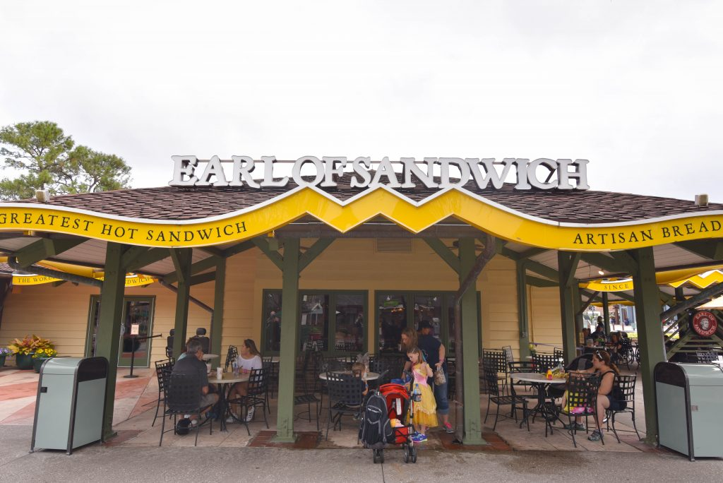 Earl of Sandwich Disney Springs - My Favorite Food at Walt Disney World - Dream Plan Fly