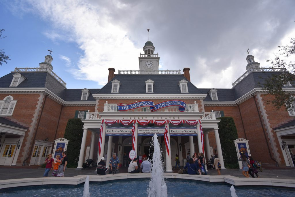 America Pavillion at Epcot World Showcase - Dream Plan Fly