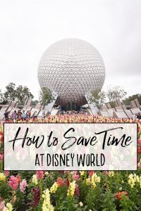 How to Save Time at Walt Disney World