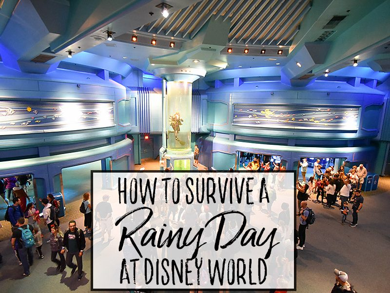 How to Survive a Rainy Day at Disney World