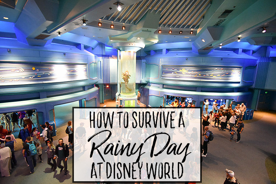 How to Survive a Rainy Day at Walt Disney World - Dream Plan Fly
