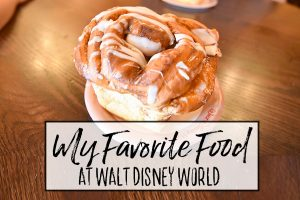 My Favorite Food at Walt Disney World