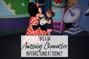 Meeting Minnie Mouse at Epcot - Tips for Amazing Character Interactions at Walt Disney World - Dream Plan Fly